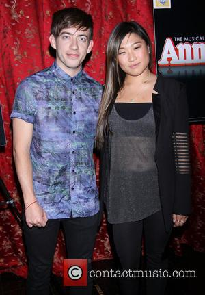 Kevin McHale and Jenna Ushkowitz - Jane Lynch's 'Annie' Broadway opening night after party held at Ruby Foo's - Arrivals...