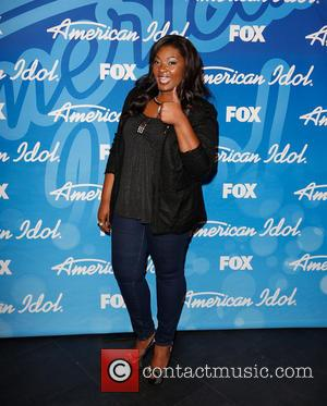 Candice Glover - 'American Idol' Finale Results Show live at the Nokia Theatre- Arrivals - Los Angeles, California, United States...