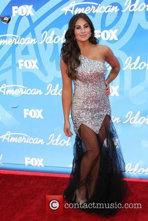 Mikalah Gordon - 'American Idol' Finale Results Show live at the Nokia Theatre- Arrivals - Los Angeles, California, United States...