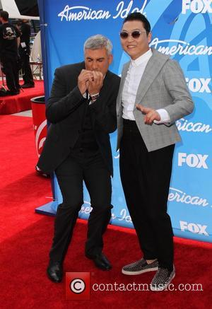 Taylor Hicks and Psy