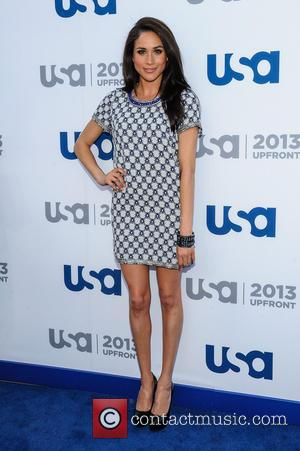 Meghan Markle - 2013 USA Network Upfronts held at Pier 36 - Arrivals - New York, NY, United States -...