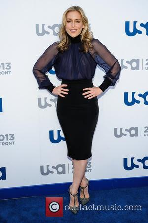 Piper Perabo - 2013 USA Network Upfronts held at Pier 36 - Arrivals - New York, NY, United States -...