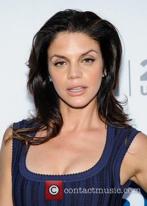 Vanessa Ferlito - 2013 USA Network Upfronts held at Pier 36 - Arrivals - New York, NY, United States -...