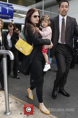 Aishwarya Rai - Aishwarya Rai arrives at Nice airport for the 66th Cannes Film Festival - Nice, France - Friday...