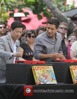 Ken Jeong and Mario Lopez