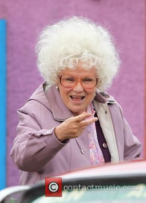 Julie walters - Actress Julie Walters joins Harry Hill in his new film 'The Harry Hill Movie'. The pair were...