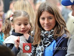 Jools Oliver and Petal Oliver - Food Revolution Day - Jamie Oliver street party held outside his Shoreditch restaurant Fifteen...