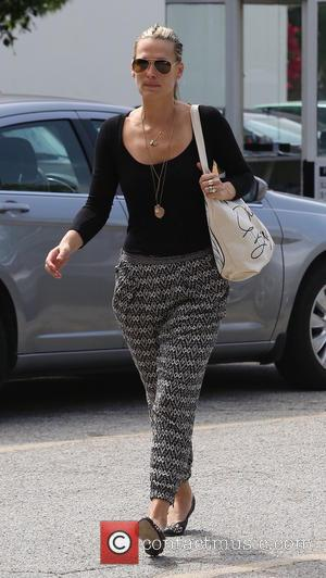 Molly Sims - Molly Sims, with wet hair, arrives at her doctor's office in Beverly Hills wearing harem pants -...