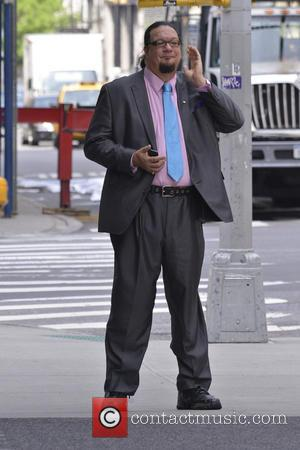 Penn Jillette - Celebrities out and about in Manhattan - New York, NY, United States - Friday 17th May 2013