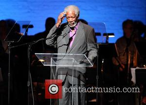 Morgan Freeman - The Jazz Foundation of America presents 'A Great Night in Harlem' at The Apollo Theater - New...