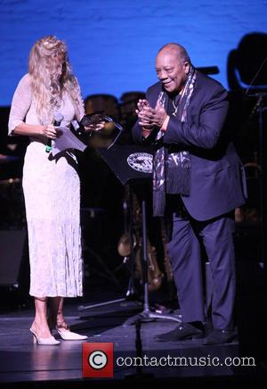 Wendy Atlas Oxenhorn and Quincy Jones