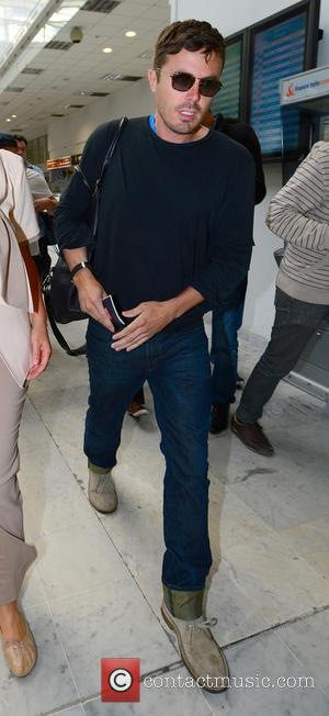 Casey Affleck - Celebrities arrive at Nice airport during the 66th Annual Cannes Film Festival - Nice, France - Friday...