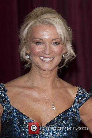 Gillian Taylforth - The British Soap Awards 2013 held at the Media City - Arrivals - Manchester, England, United Kingdom...