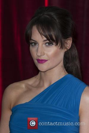 Paula Lane - The British Soap Awards 2013 held at the Media City - Arrivals - Manchester, England, United Kingdom...