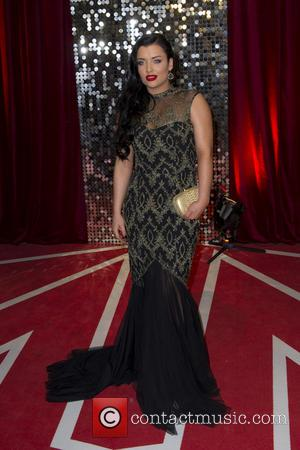 Shona McGarty - The British Soap Awards 2013 held at Media City - Arrivals - Manchester, England, United Kingdom -...