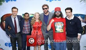Jason Sudeikis, Aziz Ansari, Amanda Seyfried, Chris O'dowd, Judah Friedlander and Colin Farrell