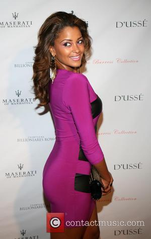 Claudia Jordan - NFL star Plaxico Burress celebrates the launch of his new men's luxury sock line, The Plaxico Burress...