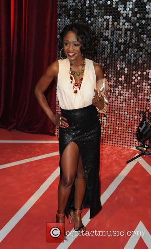Diane Parish - The British Soap Awards 2013 - Arrivals - Manchester, United States - Saturday 18th May 2013