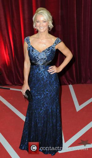 Gillian Taylforth - The British Soap Awards 2013 - Arrivals - Manchester, United States - Saturday 18th May 2013