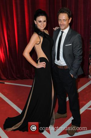 Lucy Pargeter and Dominic Power - The British Soap Awards 2013 - Arrivals - Manchester, United States - Saturday 18th...