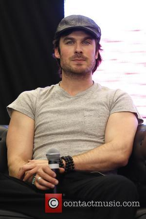 Ian Somerhalder Shoots Steamy Perfume Advert