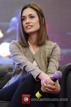 Torrey DeVitto - Q&A at The Vampire Diaries Convention at the Hotel Park Hyatt - Paris, France  - Saturday 18th...