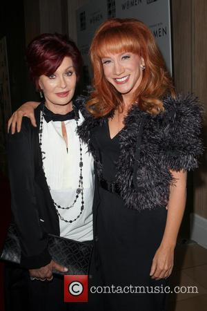 Sharon Osbourne and Kathy Griffin