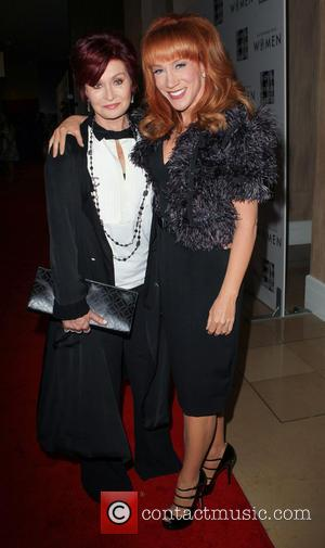 Sharon Osbourne and Kathy Griffin - L.A. Gay and Lesbian Center's 'An Evening With Women' event held at the Beverly...