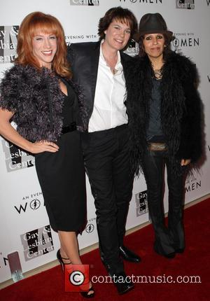 Kathy Griffin, Michelle Wolff and Linda Perry