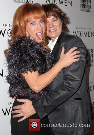 Kathy Griffin and Michelle Wolff