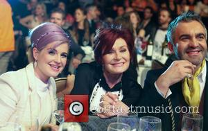 Kelly Osbourne, Sharon Osbourne and Martyn Lawrence Bullard