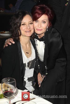 Sara Gilbert and Sharon Osbourne