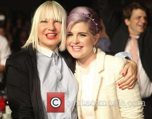 Sia and Kelly Osbourne