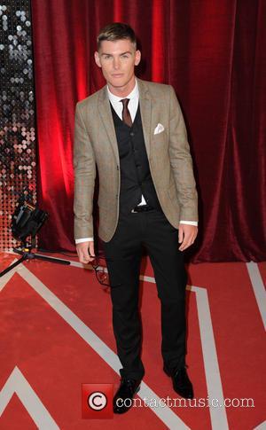 Kieron Richardson - The British Soap Awards 2013 held at Media City - Arrivals - Manchester, United Kingdom - Saturday...