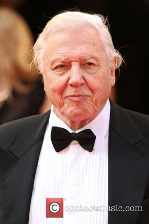 David Attenborough - The Arqiva British Academy Television Awards 2014 (BAFTA) - Arrivals - London, United Kingdom - Saturday 18th...