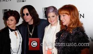 Sharon Osbourne, Ozzy Osbourne, Kelly Osbourne and Kathy Griffin