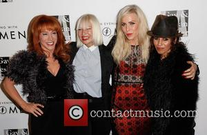 Kathy Griffin, Sia, Natasha Bedingfield and Linda Perry