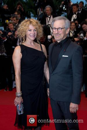 Steven Spielberg and Kate Capshaw - 66th Cannes Film Festival - Jimmy P. Psychotherapy of a Plains Indian - Premiere...