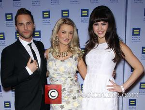 Josh Strickland, Holly Madison and Claire Sinclair