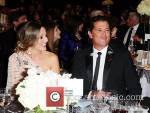 Claudia Helena Vasquez and Carlos Vives - 11th Annual FedEx/St. Jude Angels and Stars Gala - Inside - Miami, FL,...