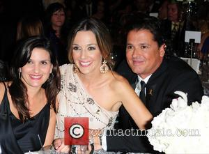 Guest, Claudia Helena Vasquez and Carlos Vives - 11th Annual FedEx/St. Jude Angels and Stars Gala - Inside - Miami,...