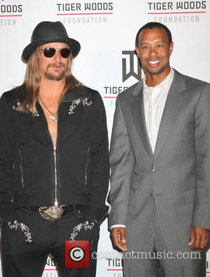 Kid Rock and Tiger Woods