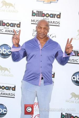 Mike Tyson - 2013 Billboard Music Awards at the MGM Grand Garden Arena - Arrivals - Las Vegas, Nevada, United...