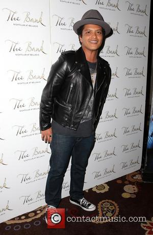 Bruno Mars - Bruno Mars hosts a party at the Bank Nightclub - Las Vegas, NV, United States - Sunday...