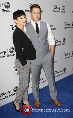 Ginnifer Goodwin and Josh Dallas - Disney Media Networks International Upfronts held at The Walt Disney Studios Lot - Arrivals...