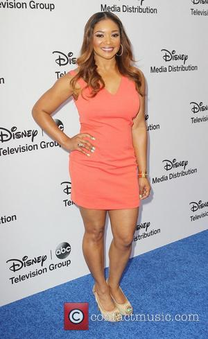 Tamala Jones - Disney Media Networks International Upfronts held at The Walt Disney Studios Lot - Arrivals - Burbank, California,...