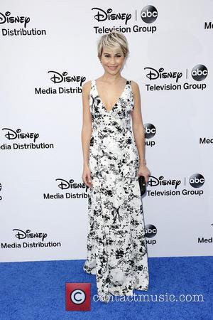 Chelsea Kane - Disney Media Networks International Upfronts held at The Walt Disney Studios Lot - Arrivals - Los Angeles,...