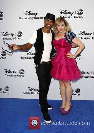 Shemar Moore and Kirsten Vangsness - Disney Media Networks International Upfronts held at The Walt Disney Studios Lot - Arrivals...