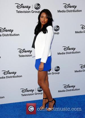 Kylie Bunbury - Disney Media Networks International Upfronts held at The Walt Disney Studios Lot - Arrivals - Los Angeles,...