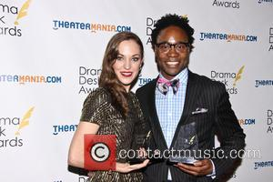 Laura Osnes and Billy Porter